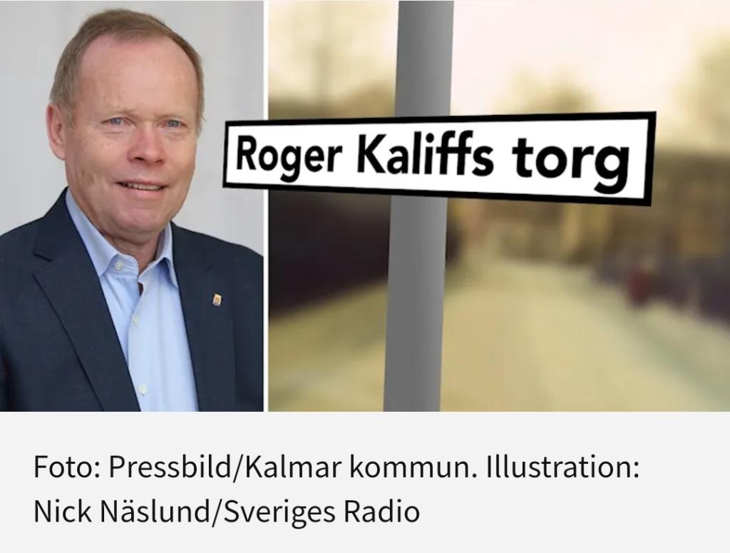 Ödmjuka s-politiker döper gator och torg efter sig själva iKalmar