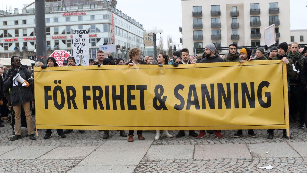 Filip Sjöström om sanning, pandemilag och frihetsfientliga medier